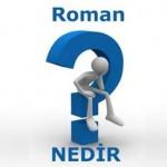 Roman Nedir? Roman Ne Demektir? Anlamı