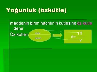 yogunluk