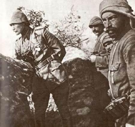 Atatürkün savaştığı cepheler