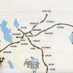 İpek Yolu Türkiye'de Nereden Geçer? İpek Yolunun Türkiye Güzergahı