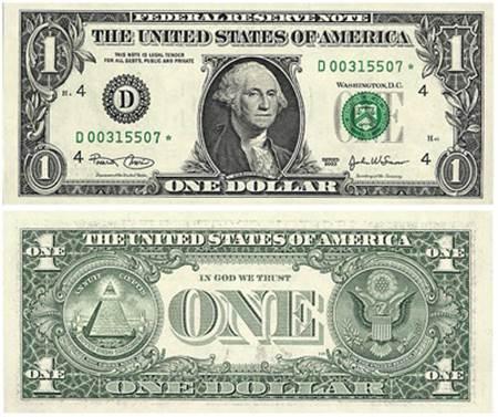 1 doların üzerindeki adam