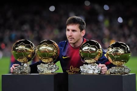 Lionel Messi başarı ve ödülleri