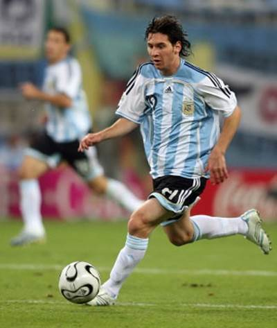Lionel Messi milli takım