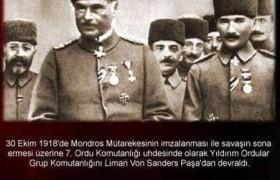 Mondros Ateşkes Antlaşmasından Sonra Yaşanan Olaylar