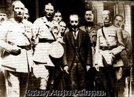 Mudanya-Ateşkes-Antlaşması