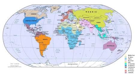 dünya ülke büyüklüğü sıralaması