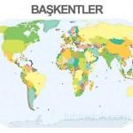 Dünya Ülkeleri ve Başkentleri Neresidir?