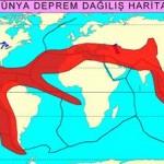Dünyada Depremin En Çok Görüldüğü ve En Az Görüldüğü Yerler