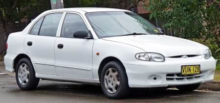 Hyundai accent 1994 - 2000