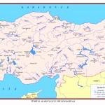Türkiye'deki Göllerin ve Akarsuların (Nehirlerin) Haritası – Türkiye'deki Göller ve Akarsular (Nehirler) Hakkında Bilgi