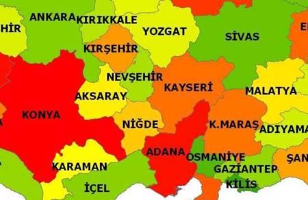 nigde-harita