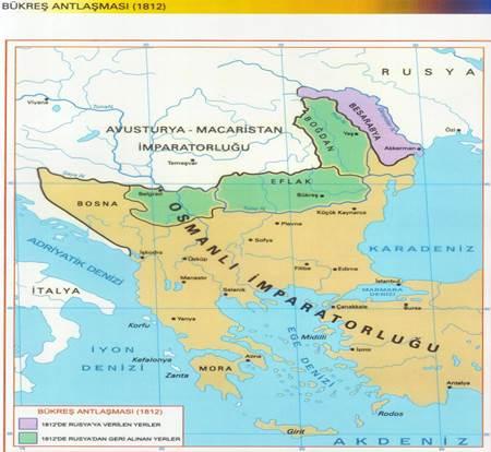 1806-1812 osmanlı-rus bükreş antlaşması