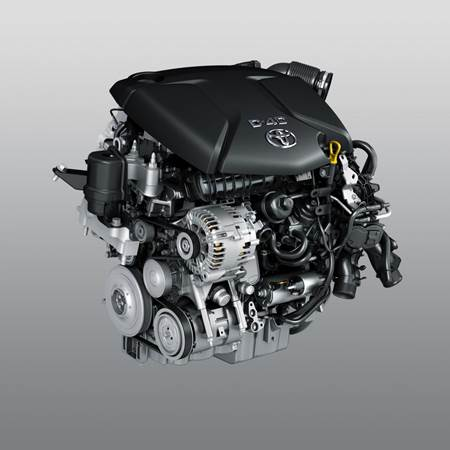 2014 Toyota Verso motoru