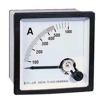 Döner Bobinli Ampermetre-1