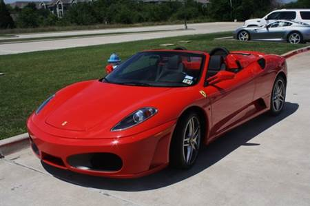 Messi Ferrari F430 Spider