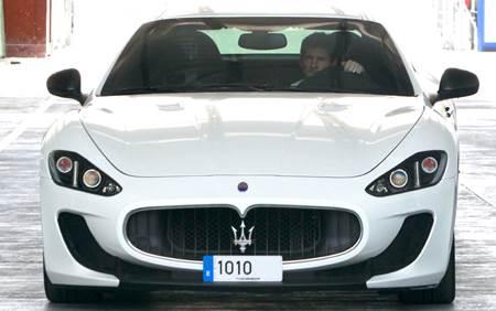 Messi Maserati GranTurismo MC Stradele