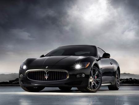 Messi Maserati GranTurismo S