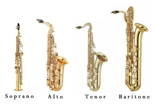 Saksafon türleri