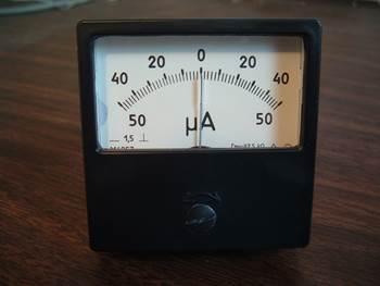 sıfır merkezli Ampermetre-1