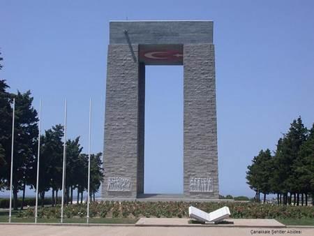 Canakkale Savaşı - Çanakkale Şehitler Abidesi-1