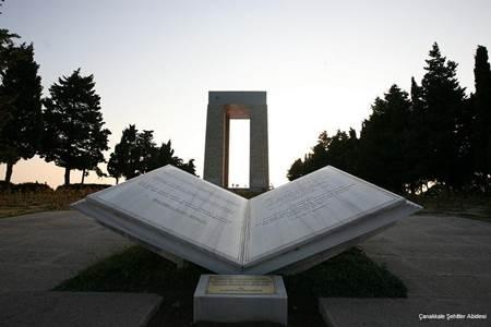 Canakkale Savaşı - Çanakkale Şehitler Abidesi-3