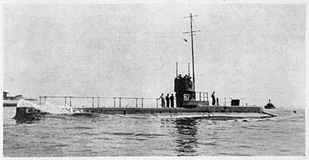 Canakkale Savaşı - İngiliz Denizaltısı