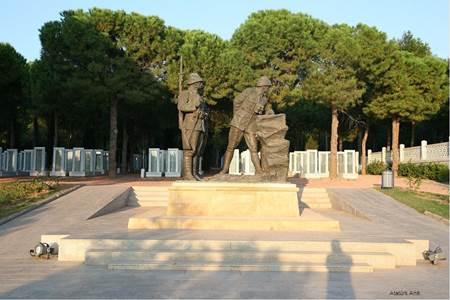 Canakkale Savaşı - Atatürk Anıtı