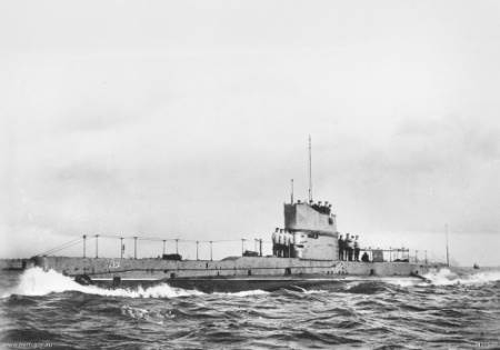 Canakkale-Savaşı - Avustralya Denizaltısı