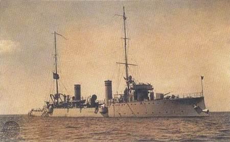Canakkale Savaşı - Peyk-i Şevket Torpido Kruvazörü