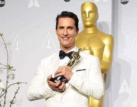 Matthew McConaughey Oscar Ödülü