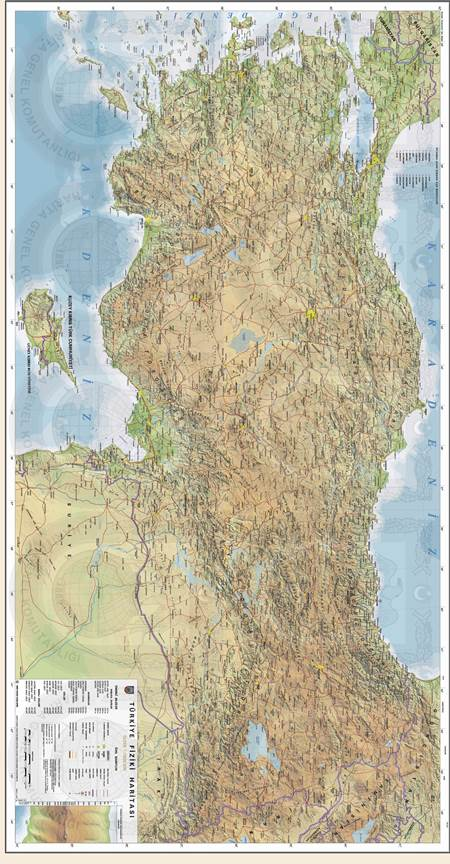 Türkiye Fiziki Haritası