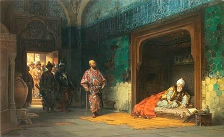 Yıldırım Bayezid'in Timur'a Esir Düşmesi