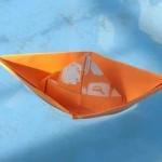 Resimli Kağıttan Gemi Yapımı – Kağıttan Gemi Nasıl Yapılır?