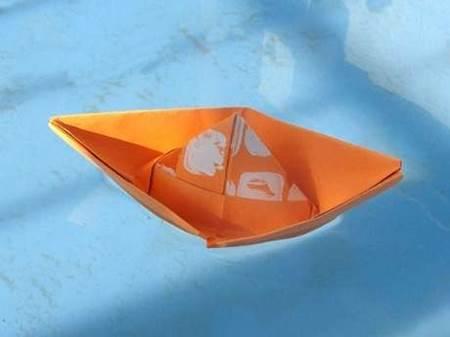 kağıttan gemi