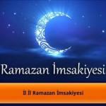 Artvin Ramazan Ayı İmsakiyesi