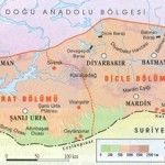 Güneydoğu Anadolu Bölgesinin Bölümleri