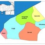 Zonguldak İlinin İlçeleri ve Zonguldak İlçelerinin Nüfusları
