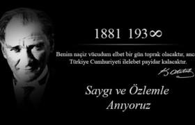 Atatürk Haftası İle İlgili Şiirler