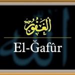 Allah'ın Gafur (El-Gafûr) İsminin Anlamı