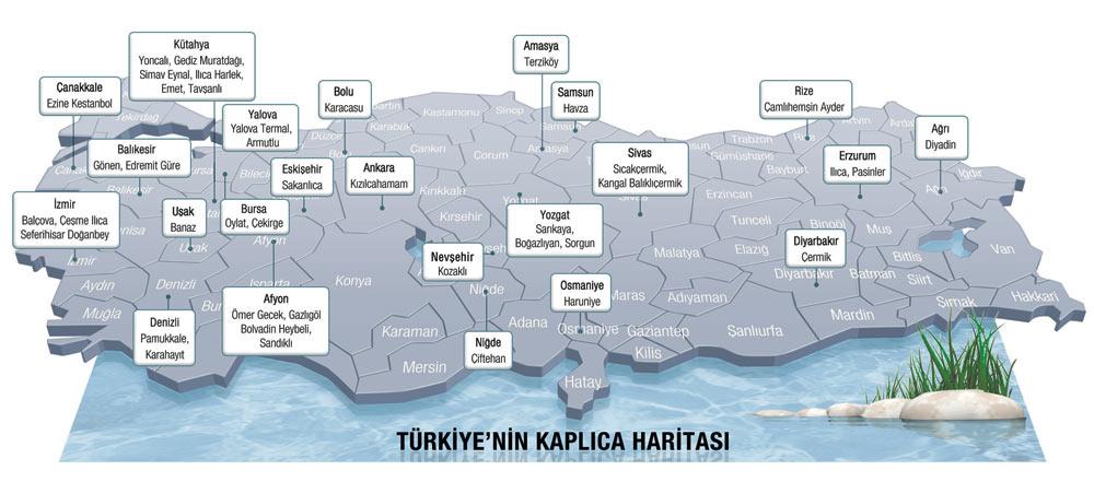 Türkiye kaplıca haritası vikipedi