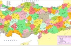 Türkiye'nin İlleri ve İlçeleri