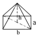 Dik Piramit hacim formülü