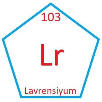 Lavrensiyum Elementinin Özellikleri ve Periyodik Tablodaki Yeri