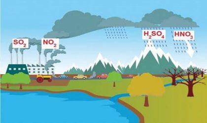 Asit Yağmuru Nedir? Asit Yağmurunun Nedenleri ve Zararları