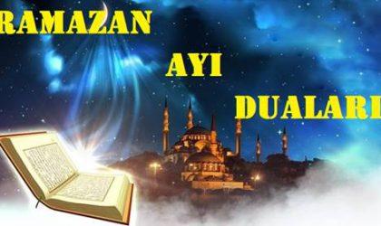 Ramazan Ayı Duaları