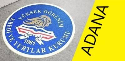Adana İlindeki Devlet (KYK) Yurtları